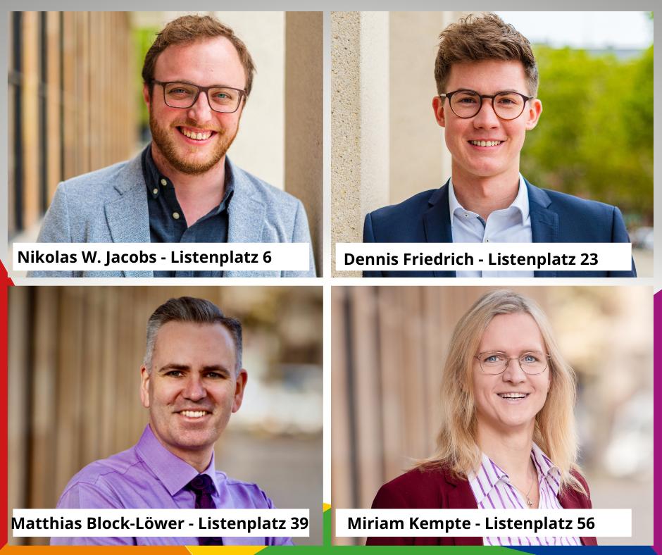 Kandidatinnen und Kandidaten der LSU zur Kommunalwahl – 10. Januar 2021